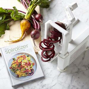 4-blade vegetable slicer spiral slicer